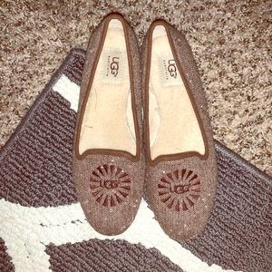 Ugg shearling loafers!